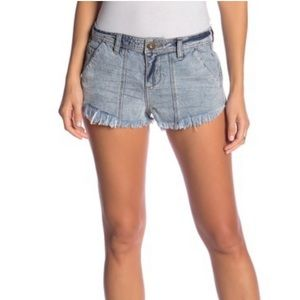 O'Neill Baja Days Frayed Shorts Light Blue